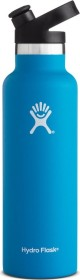 Hydro Flask 21 oz Standard Mouth Sport Cap Insulated Trinkflasche pacific