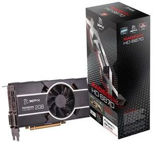 XFX Radeon HD 6870 900M Single Fan, 2GB GDDR5, 2x DVI, HDMI, 2x mini DisplayPort (HD-687X-CNFC)
