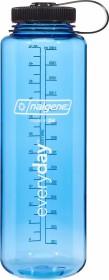 Nalgene Wide Mouth Trinkflasche 1.5l blau/schwarz (682009-0570)