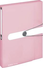 Herlitz easy orga to go Sammelbox A4, 40mm, rose transparent (11408986)
