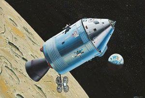 Revell Apollo Command Module (04831)