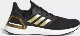 adidas Ultra Boost 20 core black/gold metallic/solar red (Herren) (EE4393)