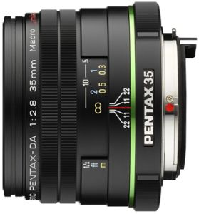 Pentax lens smc DA 35mm 2.8 macro Limited (21730)