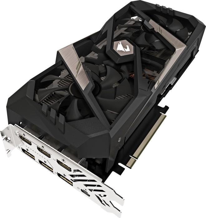 Gigabyte Aorus GeForce RTX 2080 Xtreme 8G, 8GB GDDR6, 3x HDMI, 3x DP, USB-C (GV-N2080AORUS X-8GC)