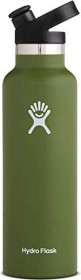 Hydro Flask 21 oz Standard Mouth Sport Cap Insulated Trinkflasche oliv