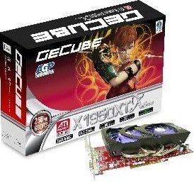 GeCube Radeon X1950 XT, 256MB DDR3, 2x DVI, TV-out, AGP (GC-HX195XTGA3-D3)