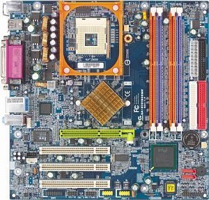 Gigabyte GA-8IG1000MK, i865G (dual PC-3200 DDR)
