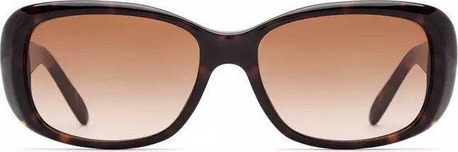 VOGUE Vogue Damen Sonnenbrille » VO2606S«, schwarz, W44/87 - schwarz/grau