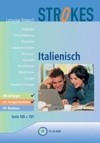 Strokes Language Research Italian 100 & 101 - beginner & advanced (German) (PC)