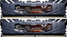 G.Skill Flare X schwarz DIMM Kit 32GB, DDR4-2400, CL15-15-15-39 (F4-2400C15D-32GFX)