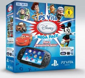 Sony PlayStation Vita Wi-Fi + 3G Mega Pack Bundle Disney schwarz