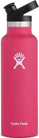 Hydro Flask 21 oz Standard Mouth Sport Cap Insulated Trinkflasche watermelon