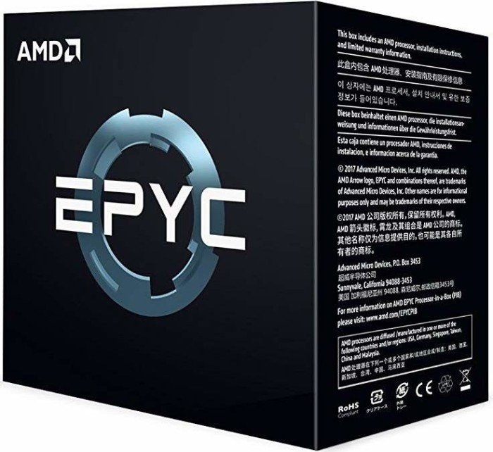AMD Epyc 7451, 24x 2.30GHz, boxed ohne Kühler (PS7451BDAFWOF)