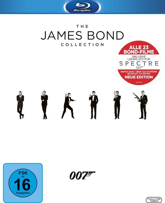 James Bond Collection (Blu-ray)