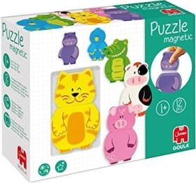 Jumbo Magnetic Interchangeable Animals Puzzle (55234)