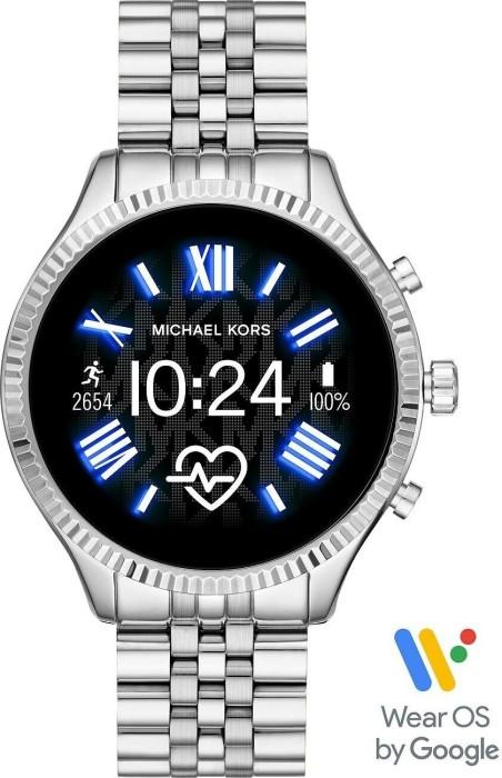 Michael Kors Access Lexington 2 mit Gliederarmband silber (MKT5077) -- via Amazon Partnerprogramm