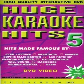Karaoke: Huge Karaoke Hits (DVD)